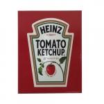 Quadro metal ketchup