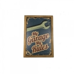 Quadro my garage my rules