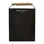 Quadro Negro Daily Suggestion Oldway - 83x55 cm