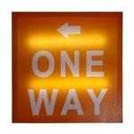Quadro One Way em MDF