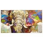 Quadro Pintura Elefante Fullway - 180x100 cm