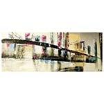 Quadro Pintura Ponte Fullway - 200x80 cm
