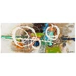 Quadro Pintura Riscos Abstratos Fullway - 70x180 cm