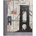 Quadro Ponte The New Yorker Oldway - Metal e MDF - 85x70 cm