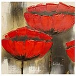 Quadro Red Flowers Fullway