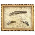 Quadro Réplica de Armas / 3 (Três)
