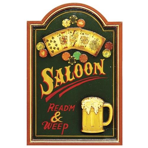 Quadro Saloon Chopp Oldway - 60x40 cm16