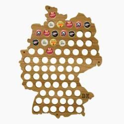 Quadro de Tampinhas Mapa da Alemanha em MDF Laminado R$ 159,99 R$ 109,99 2x de R$ 55,00 sem juros