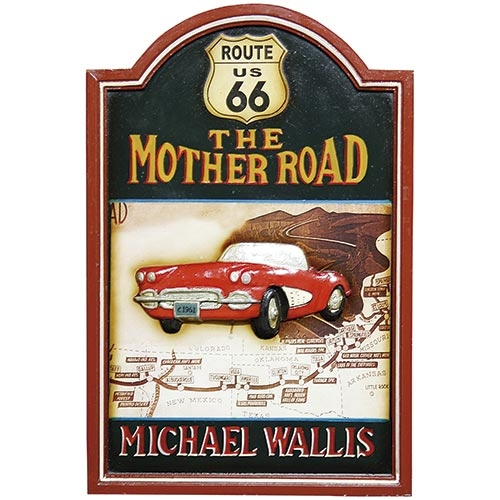 Quadro The Mother Road Oldway - 60x40 cm