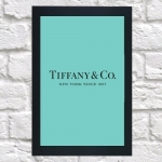 Quadro Tiffany grande (c/ moldura)