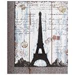 Quadro Torre Eiffel Recorte Oldway - Metal e MDF - 85x70 cm
