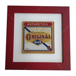Quadro de Vidro Decorativo Antarctica Original R$ 96,98 R$ 64,98 1x de R$ 58,48 sem juros