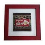 Quadro de Vidro Decorativo Brahma Chopp