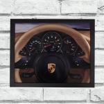 Quadro voltante Porsche (c/ moldura)