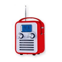 Rádio AM/FM Granpa Vermelho com Relégio Digital e Speacker R$ 299,98 R$ 209,98 4x de R$ 52,50 sem juros