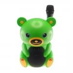 Rádio Amplificador Urso Verde - Cartão SD/ USB/ MP3