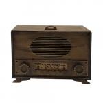 Rádio decorativo MDF
