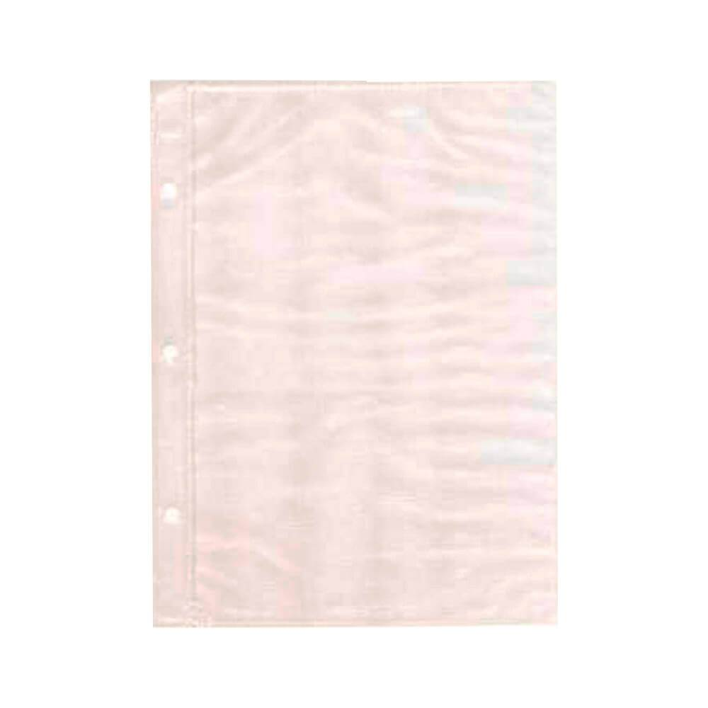 Refil Branco para Álbum de Fotos 15x21 cm - 10 Folhas - 21,7x20,5 cm