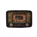Relógio rádio retrô