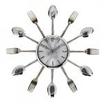 Relógio talher prata