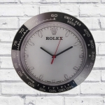 Relógio Vidro pulso branco e preto