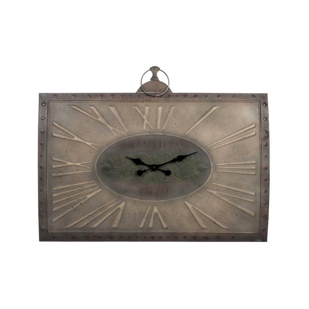Relógio Antique London 1970 Marrom em Metal - 92x71,5 cm