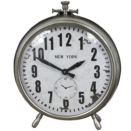 Relógio de Balcão New York Grande Oldway - Em Metal - 55x47 cm