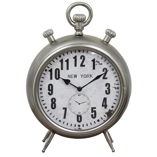 Relógio de Balcão New York Oldway - Em Metal - 39x31 cm