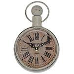 Relógio Café Rouge Paris Pequeno Parede Oldway - 18x12 cm