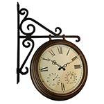 Relógio Estação c/ Termômetro/Higrômetro Greenway