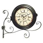 Relógio Estação Caffe Della Torre Oldway - 33x30cm