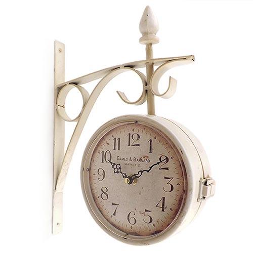 Relógio Estação Eames e Banard Dupla Face Oldway - 32x24cm