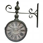 Relógio Estação Los Angeles Califórnia Cinza Oldway