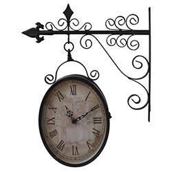 2dfc8ce2163 Relógio Estação Oval Antique Uso Externo Greenway