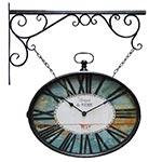 Relógio Estação Oval Antiquité Oldway - 70x62cm