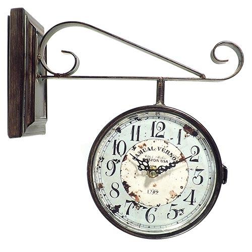Relógio Estação Samuel Vernon Oldway - 29x27cm