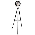 Relógio de Ferro Giratório com Tripé Oldway - 165x58 cm