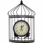 Relógio Formato Gaiola Greenway - 53x34x13cm