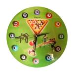 Relógio Jogo de Bilhar - Vidro