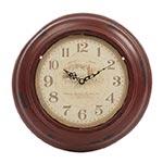 Relógio La Royalle Vermelho Rústico em Metal