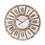 Relógio de Madeira Bordeaux Oldway