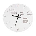 Relógio Marilyn Monroe - 30x30 cm