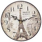 Relógio MDF de Mesa Torre Eiffel Oldway