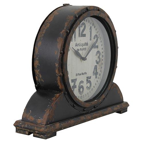 Relógio de Mesa Antiquité Paris Oldway - Metal - 41x33 cm