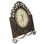 Relógio de Mesa Arabescos Bistro Leon Oldway