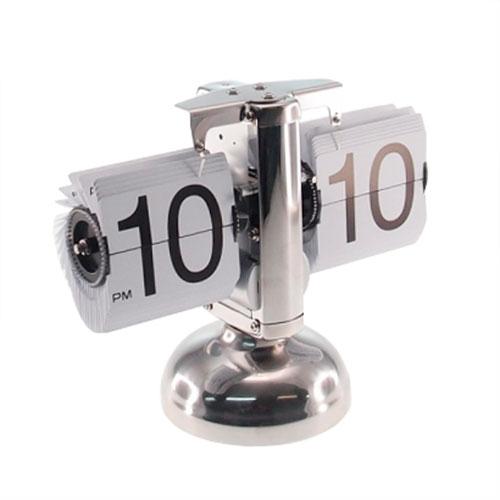 Relógio de Mesa Baixo - Sistema Flip - 21x17 cm