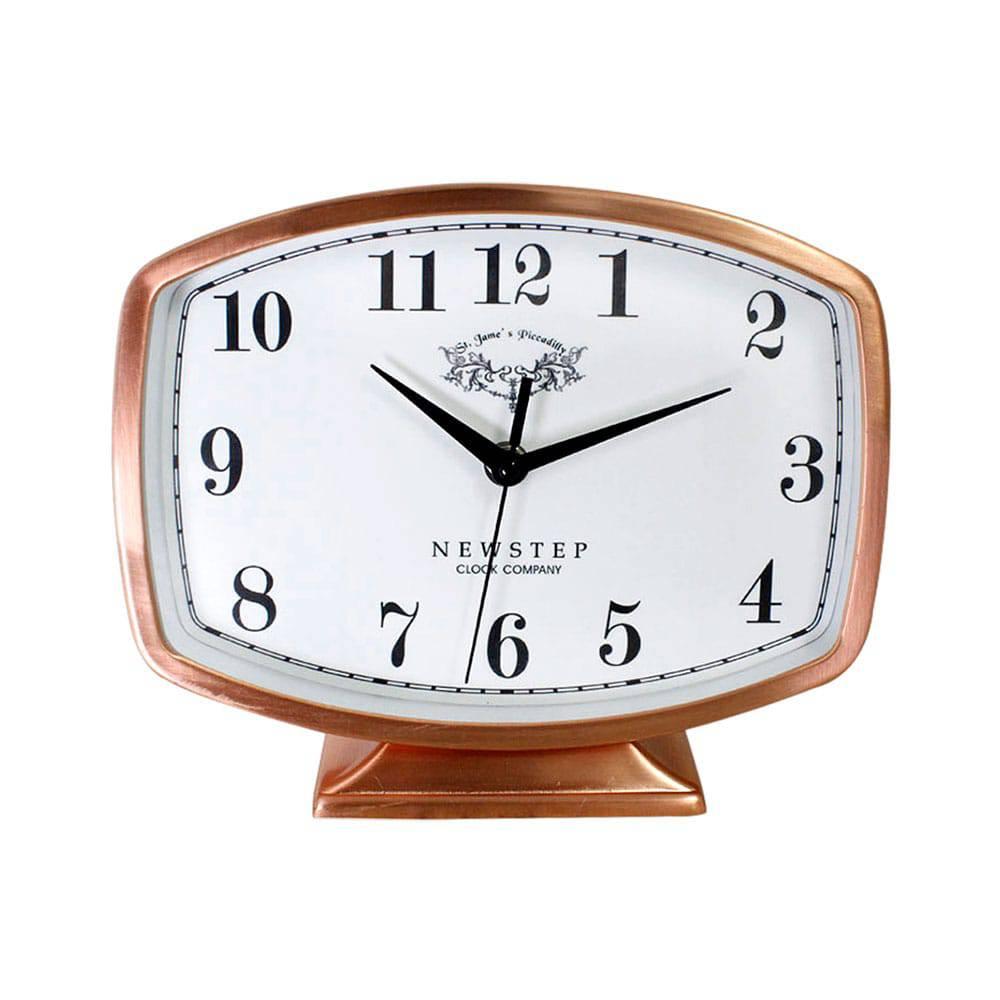 8c400d83b9b Relógio de Mesa Belle Rose Goldway - 19x22 cm - Compre Relógios de ...