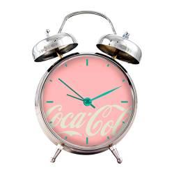 Relógio de Mesa Coca-Cola Contemporary Rosa em Metal - Urban R$ 159,98 R$ 109,98 2x de R$ 54,99 sem juros