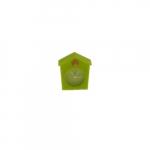 Relógio de Mesa Cuco Verde em Silicone - 6x6 cm