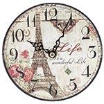 Relógio de Mesa Eiffel Tower Life Oldway
